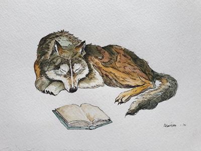 Sang Serigala bagian dari Binatang Tertidur.
